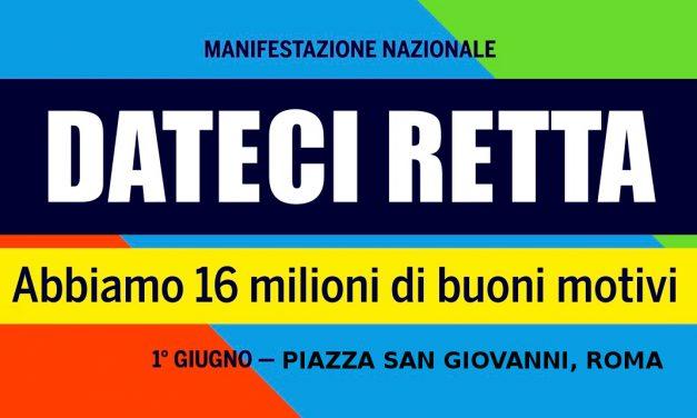 Campagnola – Rio Saliceto – Iniziative in preparazione della manifestazione unitaria dei pensionati: Roma 1 giugno 2018