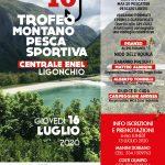 16 luglio 2020 – Centrale ENEL di Ligonchio – 10° trofeo di pesca della montagna organizzato da SPI e CGIL di zona