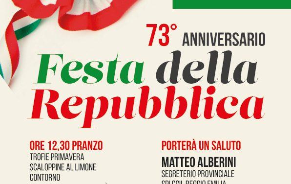 Nel segno della memoria: iniziativa dello SPI e dell'Auser per la festa della Repubblica a Cadelbosco Sopra