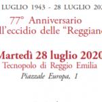 28 luglio 1943 – 28 luglio 2020 Anniversario della strage delle Reggiane – Programma delle manifestazioni