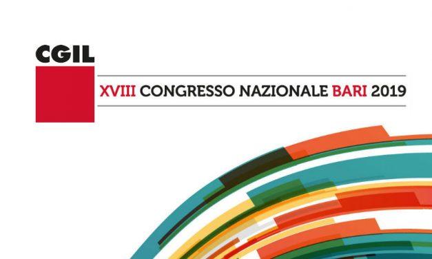 22-25 gennaio 2019 – Bari – XVIII Congresso Nazionale della CGIL