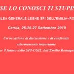 Cervia 25-26-27 settembre 2019 – Quinta assemblea generale delle leghe dello SPI-CGIL dell'Emilia Romagna