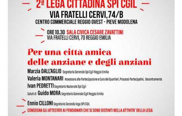 Lunedì 12 marzo 2018 alle 10.30 – Si inaugura la nuova sede della Seconda Lega Cittadina – Via f.lli Cervi, 74b Reggio Emilia