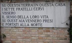 28 dicembre 1943 – Fucilati nel poligono di tiro di Reggio Emilia i 7 fratelli Cervi e Quarto Camurri – Lo SPI non dimentica – Il programma delle manifestazioni