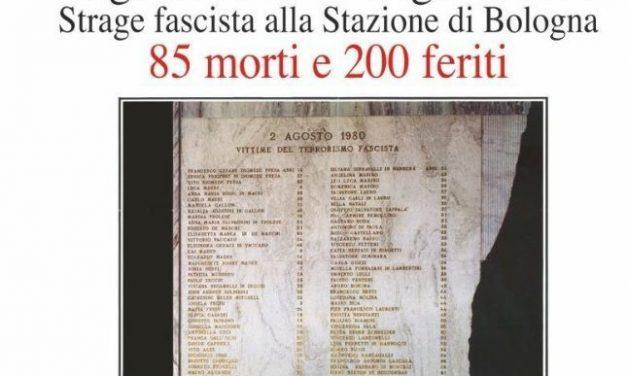 2 agosto 1980 – 2 agosto 2021 A 41 anni dalla strage della stazione di Bologna, per non dimenticare, il programma delle celebrazioni