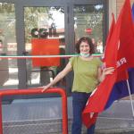 Lucia Pifferi è la nuova segetaria dello SPI di Castellarano succere a Marina Pozzi arrivata al termine del suo mandato