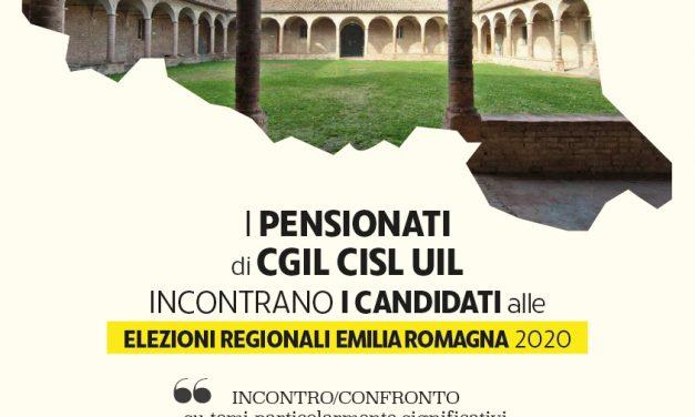 Rubiera – Mercoledì 8 gennaio 2020 – Iniziativa unitaria dei pensionati che incontrano i candidati in vista delle elezioni regionali