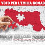 Appello dello SPI regionale e dei segretari provinciali dello SPI dell'Emilia Romagna in vista del voto regionale del 26 gennaio 2020.