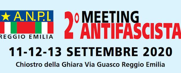 Meeting antifascista 11-12-13 settembre 2020 – Chiostro della Ghiara – Via Guasco Reggio Emilia