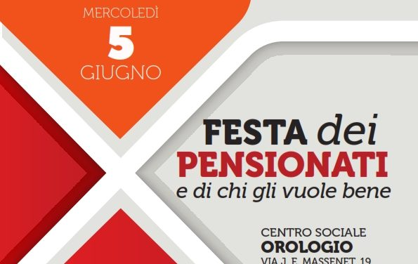 5 giugno 2019 – La 3° lega organizza la festa dei pensionati –