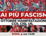 Mai più fascismi! Roma – 16 ottobre 2021 – Manifestazione nazionale unitaria per il lavoro e la democrazia