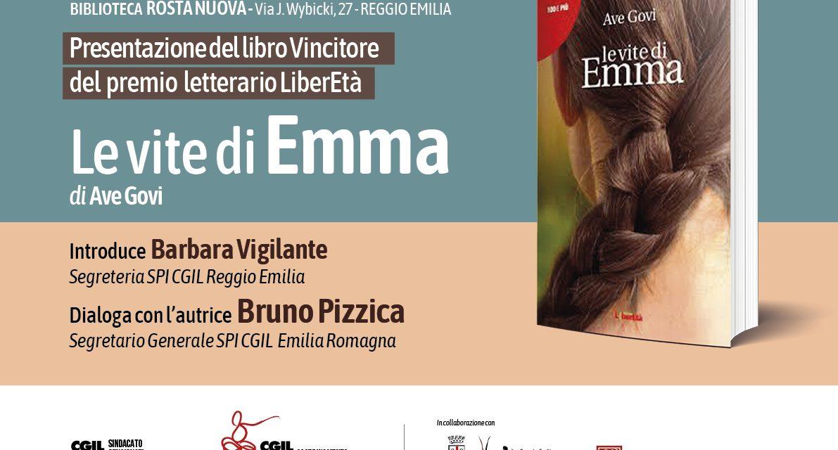 Mercoledì 11 dicembre 2019 – Biblioteca Rosta Nuova – Presentazione del libro vincitore del premio nazionale di LiberEtà. Le vite di Emma di Ave Govi