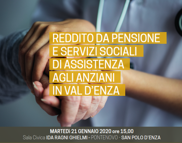 Importante iniziativa unitaria a San Polo – Martedì 21 gennaio 2020 – ore 15.00 – Sala Ida Ragni Ghielmi – Pontenovo