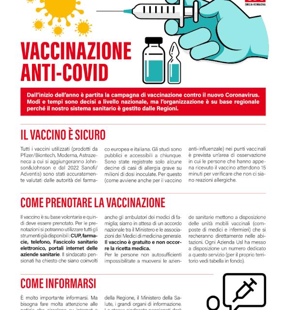 E' partita la campagna di vaccinazione anti-covid. Vaccinarsi è un dovere verso se stessi e verso gli altri.